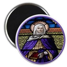 St. Anne Stained Glass Window Magnet