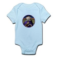 St. Anne Stained Glass Window Infant Bodysuit