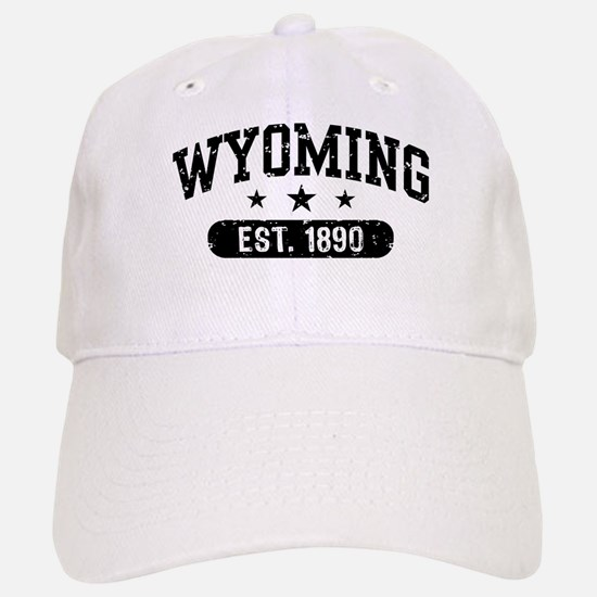 Wyoming Est. 1890 Baseball Baseball Cap