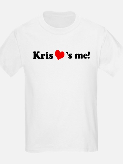 Kris loves me Kids T-Shirt