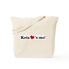 Kris loves me Tote Bag