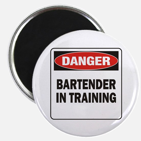"""Bartender 2.25"""" Magnet (10 pack)"""