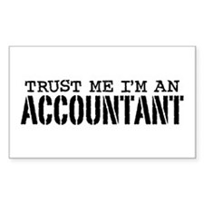 Trust Me I'm An Accountant Decal