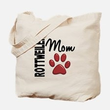 Rottweiler Mom 2 Tote Bag
