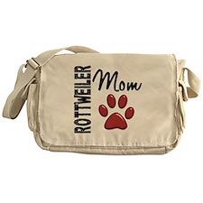 Rottweiler Mom 2 Messenger Bag