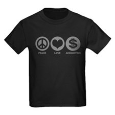 Peace Love Accounting T