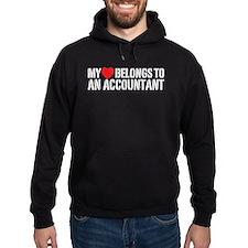 My Heart Accountant Hoodie