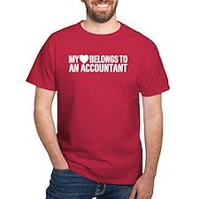 My Heart Accountant T-Shirt