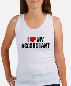 I Love My Accountant Women's Tank Top