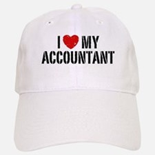 I Love My Accountant Baseball Baseball Cap
