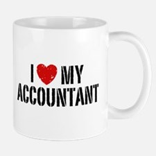 I Love My Accountant Mug