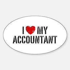 I Love My Accountant Decal