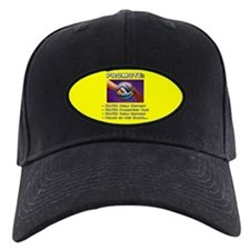 Promote 50/50 World Black Baseball Hat