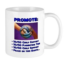 Promote 50/50 World Blue Mug