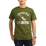I'm a bit of a player goal keeper Organic Men's T-