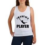 I'm a bit of a player goal keeper Women's Tank Top