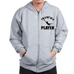 I'm a bit of a player goal keeper Zip Hoodie