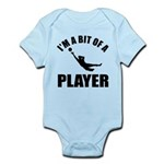 I'm a bit of a player goal keeper Infant Bodysuit