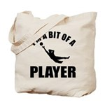 I'm a bit of a player goal keeper Tote Bag