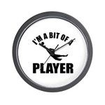 I'm a bit of a player goal keeper Wall Clock