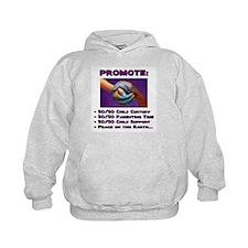 Promote 50/50 World Purple Hoodie