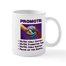 Promote 50/50 World Purple Mug