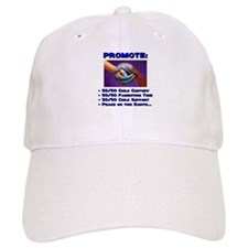 Promote 50/50 World Purple Baseball Cap