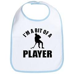 I'm a bit of a player hockey Bib
