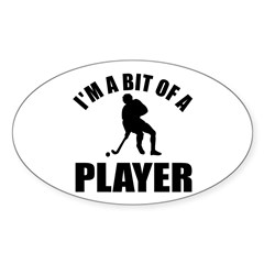 I'm a bit of a player hockey Decal