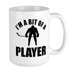 I'm a bit of a player ice hockey Mug