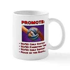 Promote 50/50 World Red Mug