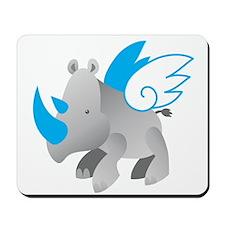 Angel Rhino Mousepad