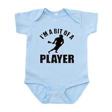 I'm a bit of a player lacrosse Infant Bodysuit