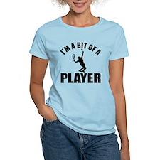 I'm a bit of a player lawn tennis T-Shirt