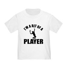 I'm a bit of a player lawn tennis T