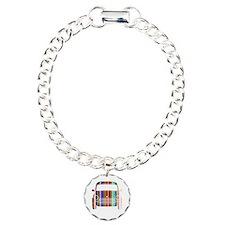 Cute Cooper Charm Bracelet, One Charm