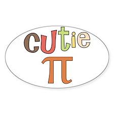 cutie pi Decal
