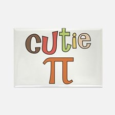 cutie pi Rectangle Magnet (10 pack)