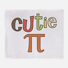 cutie pi Throw Blanket