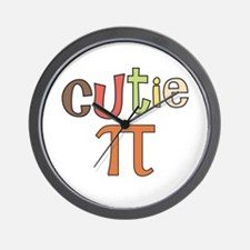 cutie pi Wall Clock