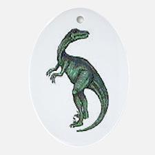Velociraptor Oval Ornament