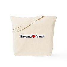 Savana loves me Tote Bag