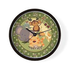 Jungle Safari Wall Clock - Adriel