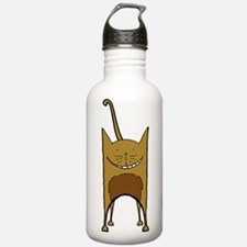 Chocolate Cat Water Bottle