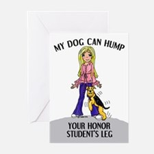 Airedale Honor Student Greeting Cards (Package of