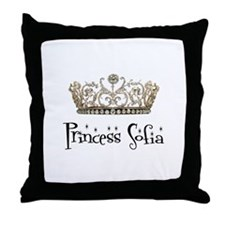 Princess Sofia Throw Pillow