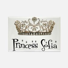 Princess Sofia Rectangle Magnet
