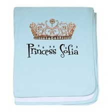 Princess Sofia baby blanket