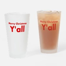Y'all Drinking Glass