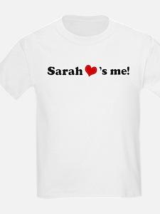Sarah loves me Kids T-Shirt